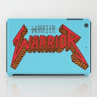 Warrior Not Worrier iPad Case