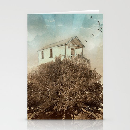Tree House Stationery Card