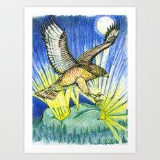 Dorothy's Totem Art Print