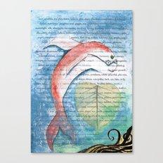 Fish of Far-Sightedness Canvas Print