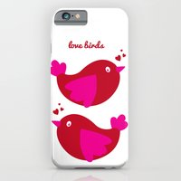 iPhone & iPod Case featuring Love Birds by Jennifer Rogers