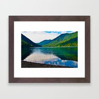 Pristine Framed Art Print
