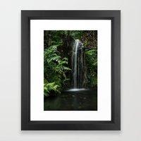 Mini  Waterfall Framed Art Print