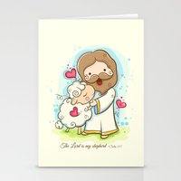 Lord Is My Shepherd Stationery Cards