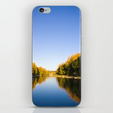 Autumn Reflections - Calgary, AB iPhone & iPod Skin