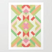 Geometric Study 2 Art Print