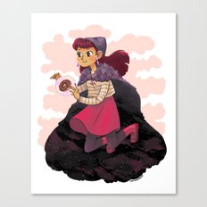 Psychic Witch Canvas Print