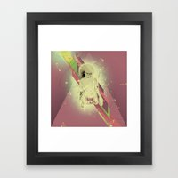 Big Manos Framed Art Print