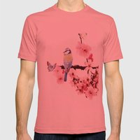 Spring Mens Fitted Tee Pomegranate SMALL