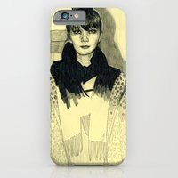 iPhone & iPod Case featuring Fashion sketch by Fran Court