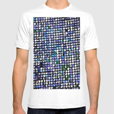 Shimmer Mens Fitted Tee White SMALL
