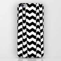 Chevron Pieces iPhone & iPod Skin