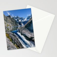 Mountain Creek #blue Stationery Cards