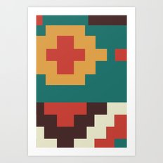 UFOlk 2 Art Print