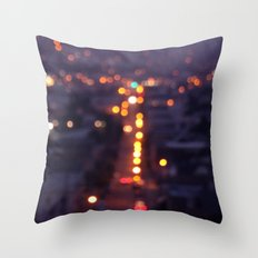 Fog. Throw Pillow