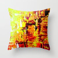 City Walk Throw Pillow