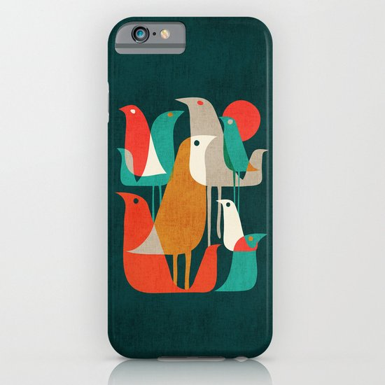 Flock of Birds iPhone & iPod Case