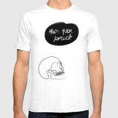 Old friend White Mens Fitted Tee SMALL