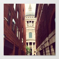 St. Paul's Cathedral Canvas Print