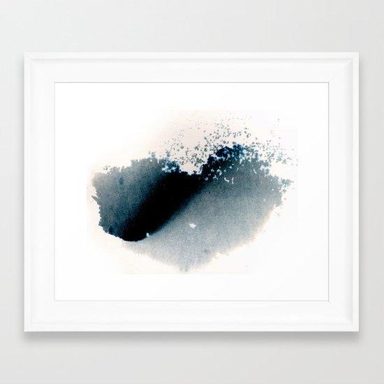Descending Heart  Framed Art Print