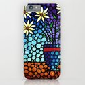 You Cant Hide Beautiful - Lively floral by Labor of Love artist Sharon Cummings. iPhone & iPod Case