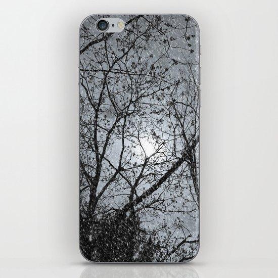 Oh Snowy Night iPhone & iPod Skin