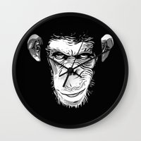 Evil Monkey Wall Clock