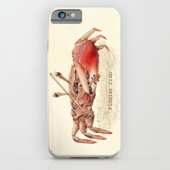 Fiddler Crab iPhone & iPod Case