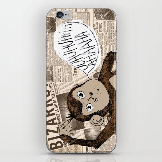 Bizarro Monkey iPhone & iPod Skin