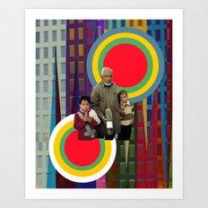 Target zone Art Print