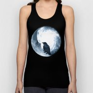 The Crow And Its Moon. (… Unisex Tank Top