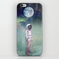 Moon Balloon iPhone & iPod Skin