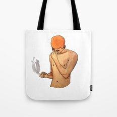 Sadness Smokes Tote Bag