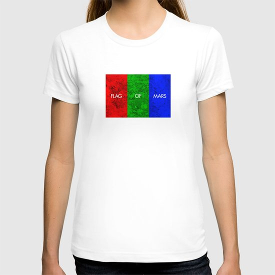 THE FLAG OF MARS T-shirt