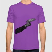 Swinging on Tree Branches Mens Fitted Tee Ultraviolet SMALL