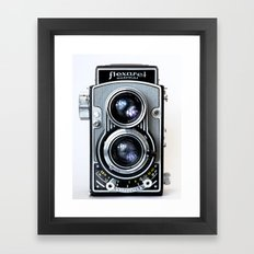 Flexaret Vinatge Camera Framed Art Print