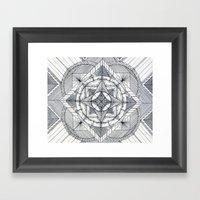 Microcosm Framed Art Print