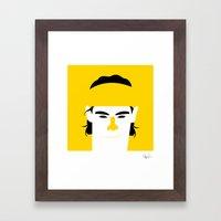 Rafael Nadal Parera Framed Art Print