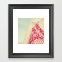 Sweet Summer. Framed Art Print