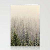 mountain Stationery Cards featuring Mountain Haze by Kurt Rahn