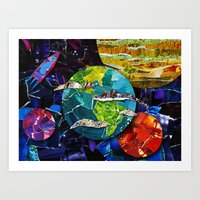 Gimme Some Space! Art Print