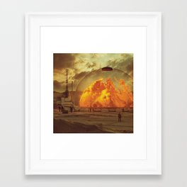 Framed Art Print - PLASMA.INCINERATOR1.5  (everyday 02.13.16) - beeple