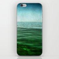 sea square XIV iPhone & iPod Skin