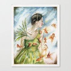 Fish Dance Canvas Print