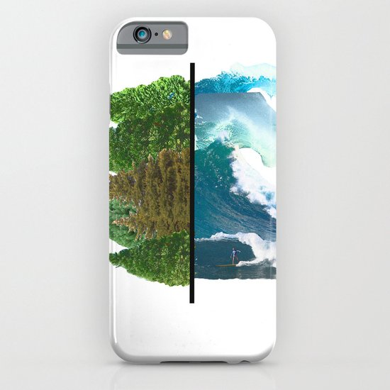 Tree and Surf iPhone & iPod Case
