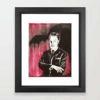 Vincent Price The Bat Framed Art Print