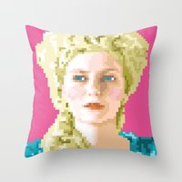 Sa majesté la reine Throw Pillow