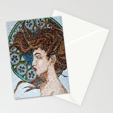 Nouveau - Mixed Glass Mosaic Stationery Cards