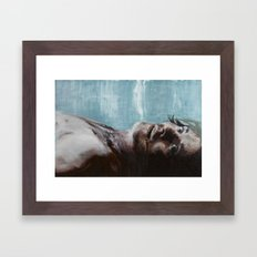 Hear The Darkness Framed Art Print