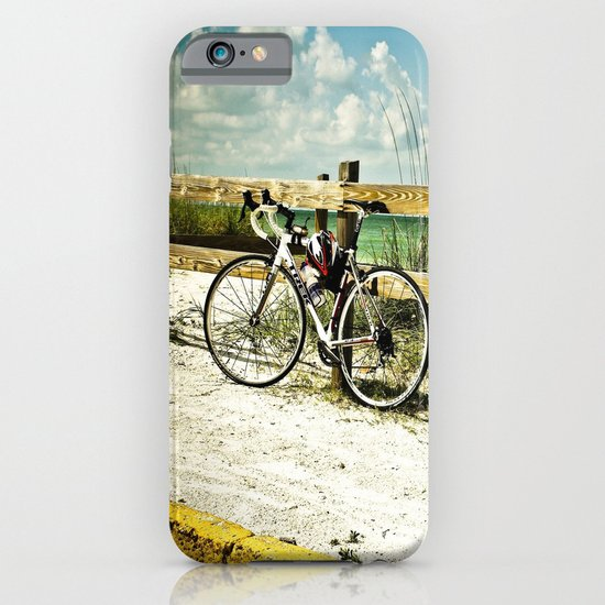 Bicycle on Beach iPhone & iPod Case